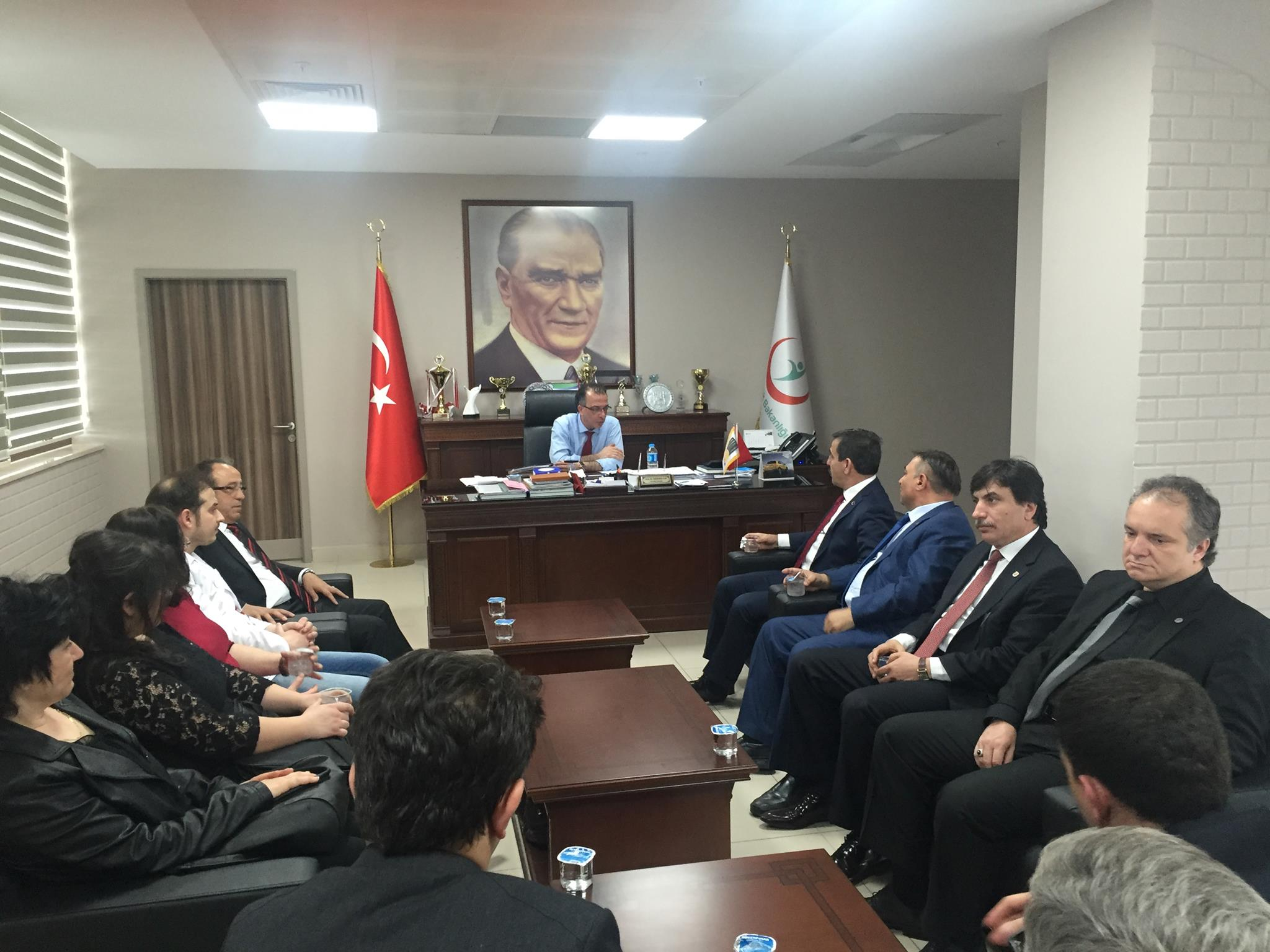 Sendikal çalışmalara kapsamında Edirne ziyaret edilerek çalışanlar ve teşkilatımızla bir araya gelindi.
