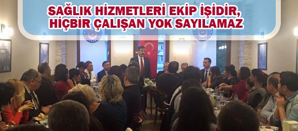 Edirne'de Çalışanlarla Bir Araya Geldik