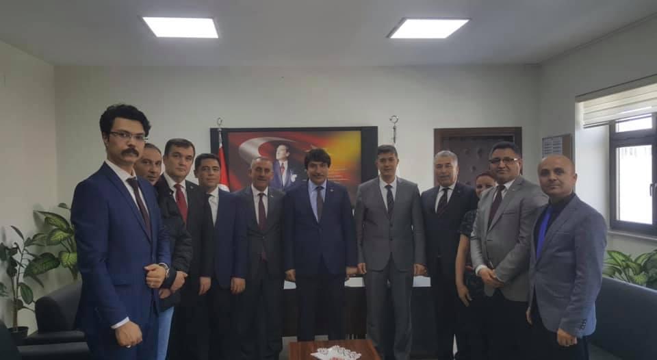 Genel Başkan Yardımcılarımız İsmail Türk ve Kenan Karaçam sendikal çalışmalar kapsamında Aydın İlimizi ziyaret ettiler.