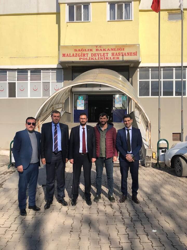 Genel Başkan Yardımcımız Hamza Olgun sendikal çalışmalar kapsamında Muş ilini ziyaret etti.