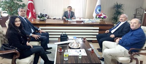 Kısa bir süre önce kurularak faaliyetlerine başlayan Sağlıkta Şiddete Son Derneği Genel Başkanımız Önder Kahveci'yi ziyaret etti.