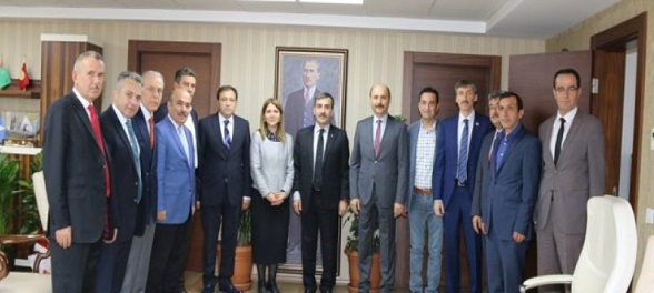 Ankara Milletvekili Zuhal Topçu\'dan Konfederasyonumuza Ziyaret