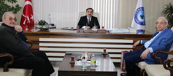 Azerbaycan Sağlık İşçileri Sendikası'ndan Konfederasyonumuza Ziyaret