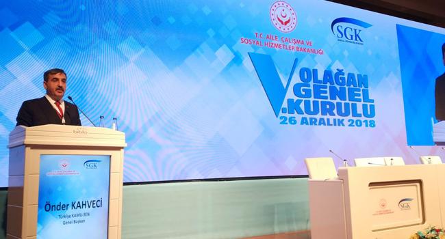 Genel Başkanımız SGK Genel Kuruluna Katıldı