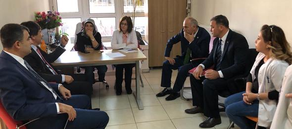 Çankırı'da Sağlık Çalışanları ile Bir Araya Geldik