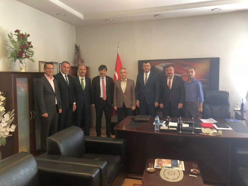 Genel Başkan Yardımcılarımız İsmail Türk ve Mustafa Köse, sendikal çalışmalar kapsamında Çankırı'yı ziyaret ettiler.