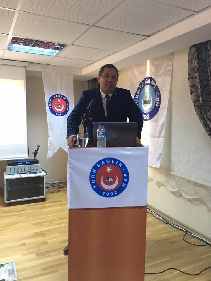 Türk Sağlık-Sen Adana Üniversite Şubemiz 2. Olağan Kongresini gerçekleştirdi. Genel Başkan Yardımcılarımız Abdurrahman Uysal ve Yusuf Alan'ın da katıldığı kongrede Şube Başkanımız  Ali Uçar Atik güven tazeleyerek yeniden şube başkanlığına seçildi