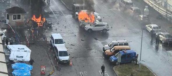 İzmir'de Hain Terör Saldırısı: 2 Şehit