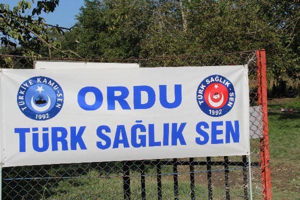 Türk-Sağlık Sen Ordu Haftasonu Etkinliği Düzenledi