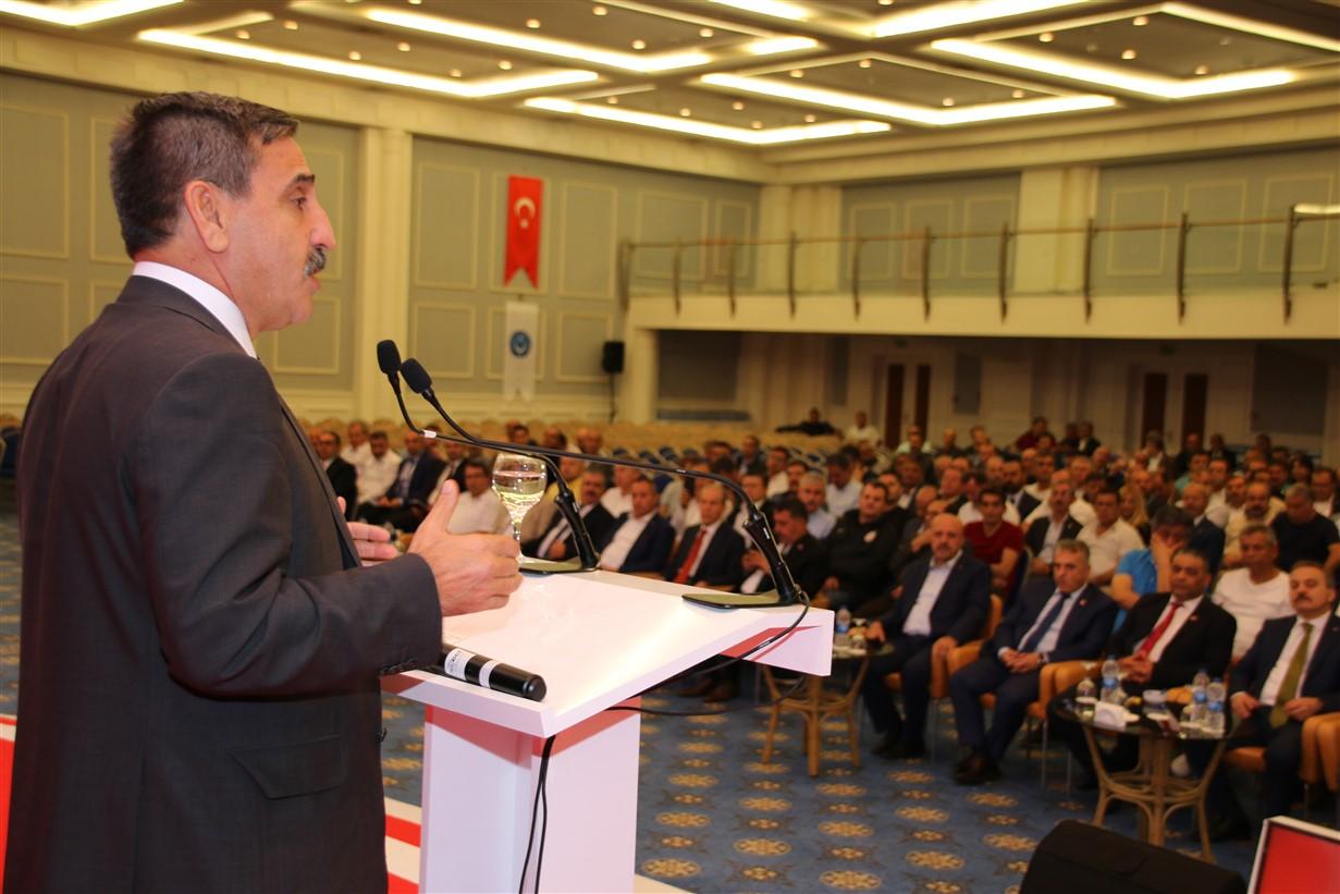 Türkiye Kamu-Sen Başkanlar Kurulu, Eğitim ve Değerlendirme toplantısı Antalya'da tamamlandı.