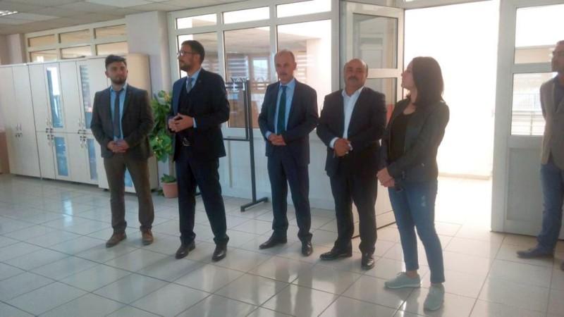 Genel Başkan Yardımcılarımız Hamza Olgun ve Mustafa Yiğit sendikal çalışmalar kapsamında Ardahan'ı ziyaret ettiler.