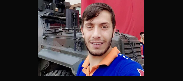 Üyemiz Afrin'de Şehit Oldu