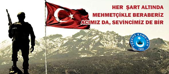 Afrin Operasyonuna Destek, Şehide Saygı İçin Kızılay'dayız