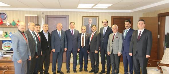 Ombudsman Şeref Malkoç'tan Konfederasyonumuza Ziyaret
