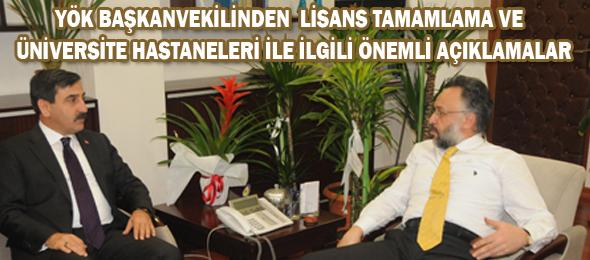 Yök Başkanvekili Kapucuoğlu'nu Ziyaret Ettik