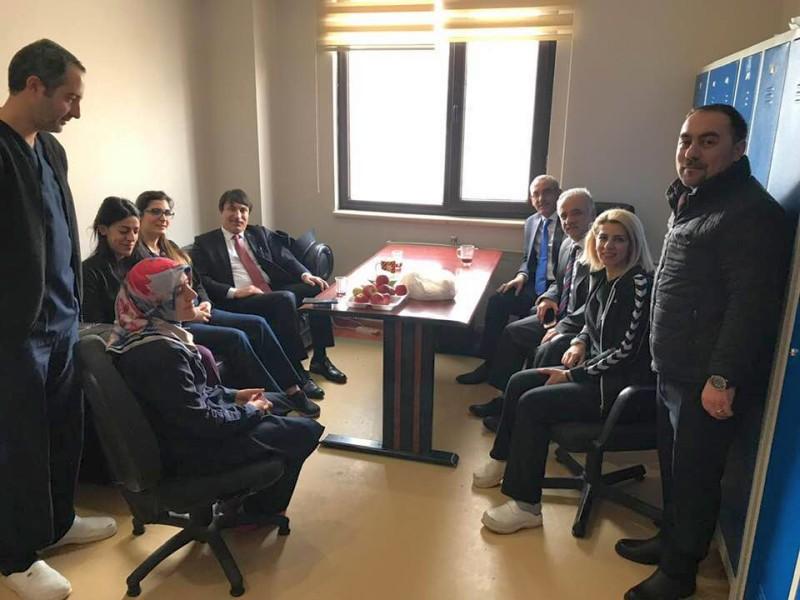 Genel Başkan Yardımcılarımız İsmail Türk ve Kenan Karaçam Sendikal çalışmalar kapsamında Van İlimizi ziyaret ettiler.