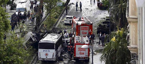 İstanbul'da Hain Terör Saldırısı:11 Şehit