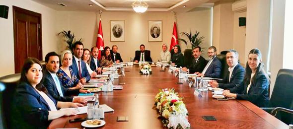 Cumhurbaşkanlığı Sağlık ve Gıda Politika Kurulu tarafından gerçekleştirilen toplantıda sağlıkta şiddete yönelik çözüm önerilerimiz Genel Başkanımız Sayın Önder Kahveci tarafından ifade edildi.