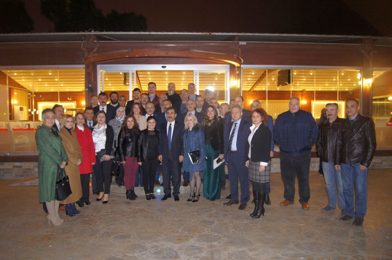 Genel Başkanımız Önder Kahveci ve Genel Başkan Yardımcılarımız Hasan Şirin ve Yusuf Alan sendikal çalışmalar kapsamında Samsun'u ziyaret etti.