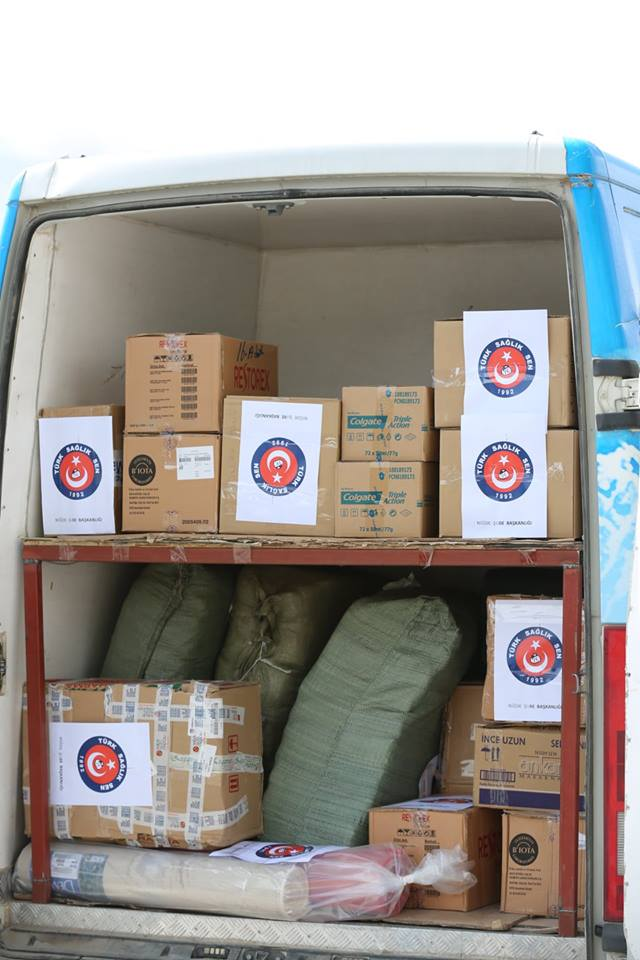 Niğde şubemiz tarafından gerçekleştirilen organizasyonda Nusaybin'e gidilerek teröre karşı kahramanca mücadele eden asker ve polislerimize hediyeler verildi.
