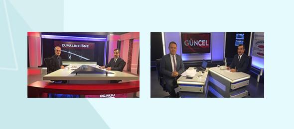 """Türkiye Kamu-Sen Genel Başkanı Önder Kahveci, Bengütürk Televizyonunda """"Çuvaldız İğne"""", Kanal B Televizyonunda ise """"Güncel"""" programına katılarak gündemi, çalışma hayatını ilgilendiren konuları ve ekonomik gelişmeleri değerlendirdi."""