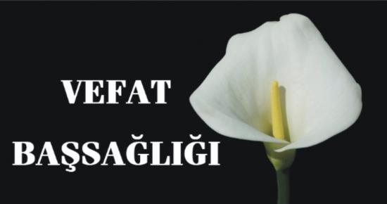 Genel Başkan Yardımcımız Ümit Turhan'ın teyzesi vefat etmiştir.
