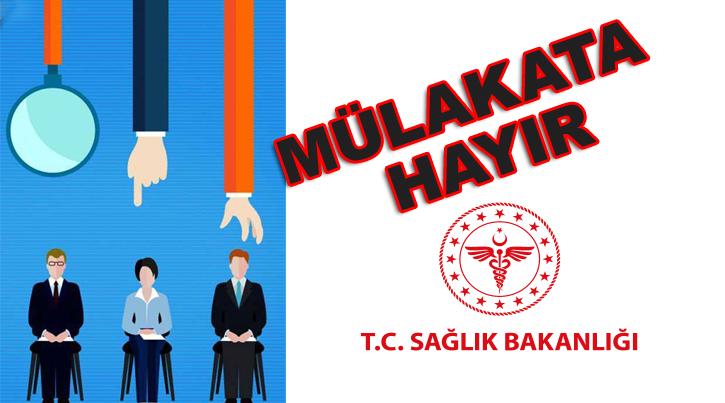 Türkiye Kamu-Sen ve Türk Sağlık-Sen olarak kamuda içinde mülakat olan her sınava karşı çıktık. Çünkü bu tür sınavların esas amacı ülkemizde torpil adam kayırma v.b işler için uydurulan mevzuat düzenlemesi olmalarıdır.