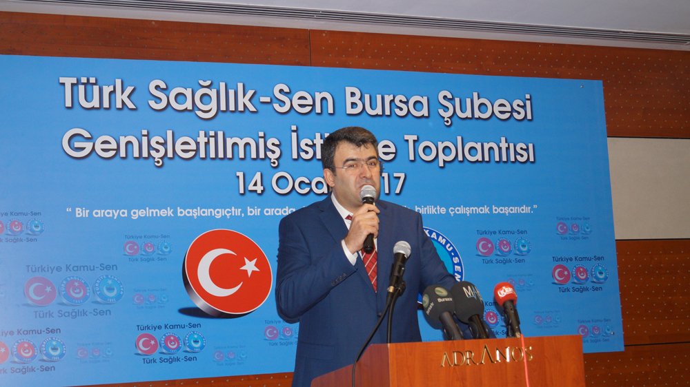 Genel Başkanımız Önder Kahveci ve Genel Başkan Yardımcılarımız Bursa şubemizde gerçekleştirdiği istişare toplantısına katıldılar.