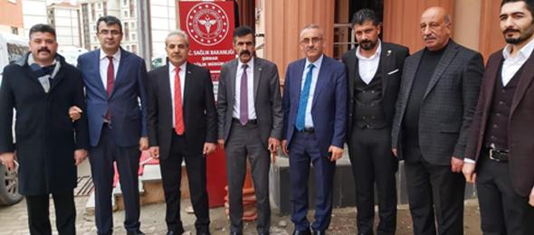 Şırnak'ta Çalışanları ziyaret Ettik