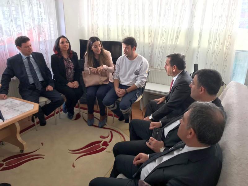 Genel Başkanımız Önder Kahveci ve Genel Başkan Yardımcılarımız Ümit Turhan ve Mustafa Köse sendikal çalışmalar kapsamında Samsun'u ziyaret ettiler.