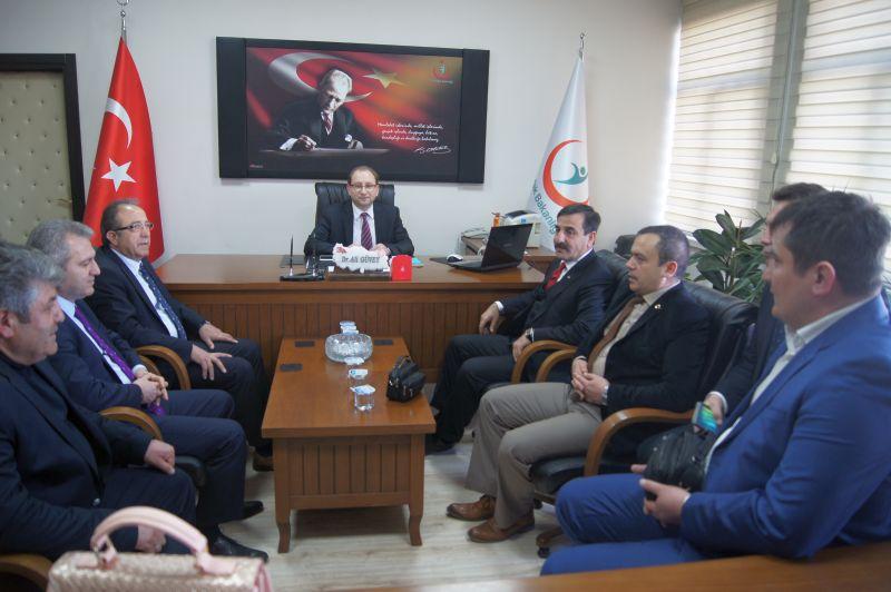Genel Başkanımız Önder Kahveci ve Genel Başkan Yardımcılarımız Mustafa Genç ve Yusuf Alan Kütahya'yı sendikal çalışmalar kapsamında ziyaret ettiler.