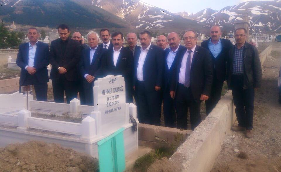Genel Başkanımız Önder Kahveci ve Genel Başkan Yardımcılarımız Mustafa Genç, Hasan Şirin ve Abdurrahman Uysal, sendikal çalışmalar kapsamında Erzurum'u ziyaret edildi.