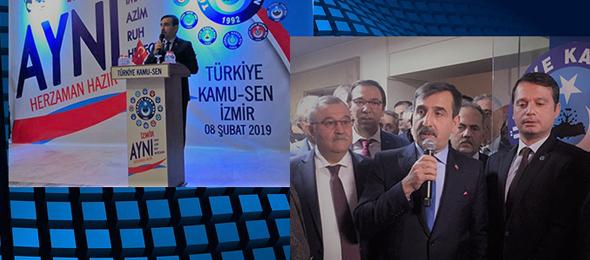 Türkiye Kamu-Sen İzmir'de Bir Araya Geldi