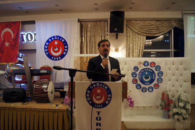Genel Başkanımız Önder Kahveci, Genel Başkan Yardımcılarımız Mustafa Genç, İsmail Türk ve Ümit Turhan Amasya şubemizin gerçekleştirdiği hemşireler haftası programına katıldılar.