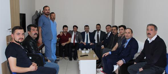 Genel Başkan Yardımcılarımız Ümit Turhan ve Mustafa Köse sendikal çalışmalar kapsamında Nevşehir İlimizi ziyaret ettiler.
