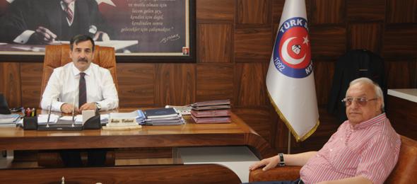 Azerbaycan'dan Sendikamıza Ziyaret