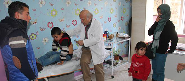 Türkmenlere Sağlık Hizmeti İle İlgili TKHK'ndan Yazı
