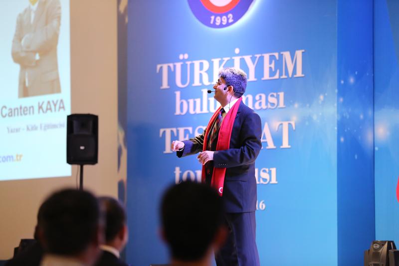 Toplantının ikinci bölümü Genel Başkan Yardımcımız Abdurrahman Uysal tarafından gerçekleştirilen Teşkilatlandırma çalışmaları başlıklı bir sunumla başladı.