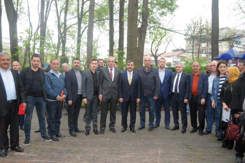 Genel Başkanımız Önder Kahveci Genel Başkan yardımcımız Yusuf Alan ile birlikte Sakarya şubemizin gerçekleştirdiği işyeri temsilcileri toplantısına katıldı.