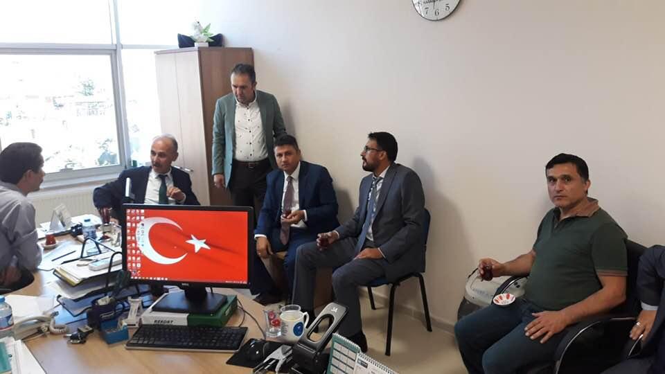 Sendikal çalışmalar kapsamında Genel Başkan Yardımcılarımız Hamza Olgun ve Mustafa Yiğit Karabük'ü ziyaret ettiler.