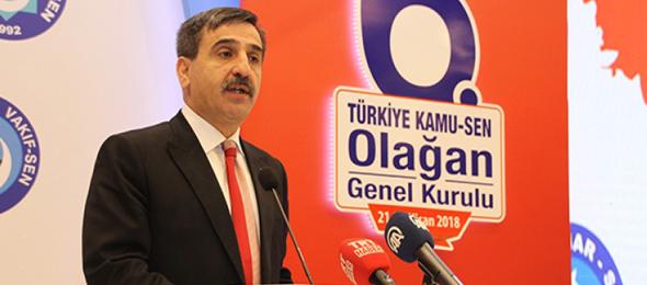 Türkiye Kamu-Sen Genel Kurulu Başladı