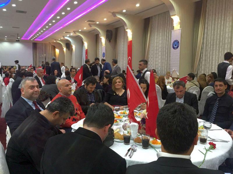 Genel Başkan Yardımcılarımız Mustafa Genç ve Ümit Turhan Adana şubemiz tarafından gerçekleştirilen 14 Mart Tıp Bayramı toplantısına katıldılar.