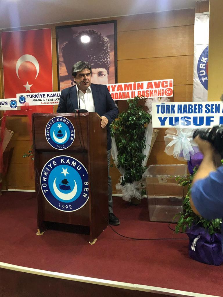 Adana 1 Nolu Şubemizin Olağanüstü Genel Kurulu 27.07.2019 tarihinde gerçekleştirildi.