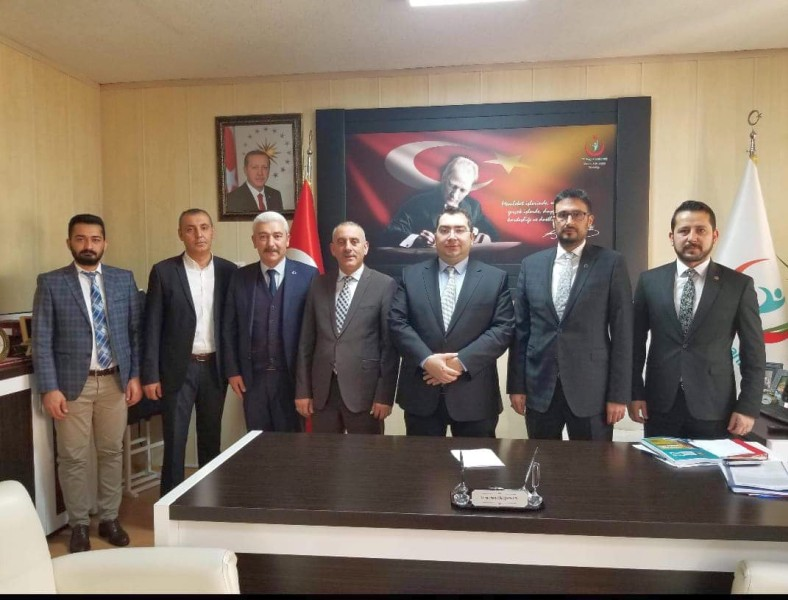 Genel Başkan Yardımcılarımız Kenan Karaçam ve Hamza Olgun sendikal çalışmalar kapsamında Aksaray İlimizi ziyaret ettiler.