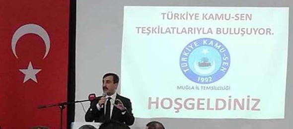Türkiye Kamu-Sen Genel Başkanı Önder Kahveci,