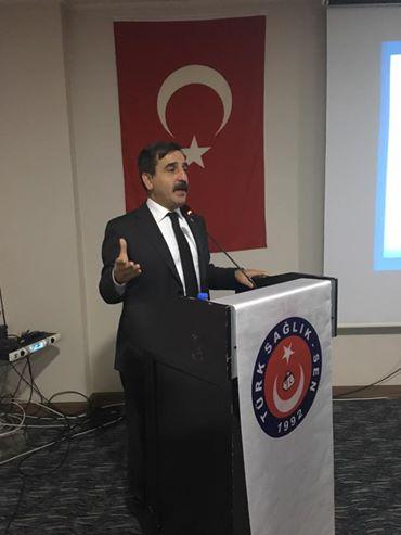 Genel Başkanımız Önder Kahveci ve Genel başkan Yardımcılarımız İsmail Türk, Ümit Turhan ve Mehmet Ali Çakal sendikal çalışmalar kapsamında Afyon'u ziyaret ettiler.