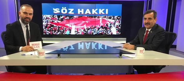 Genel Başkan Önder Kahveci Bengü Türk TV'ye Konuk Oldu