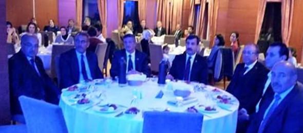 Erzurum'da Sağlık çalışanları Dayanışma Gecesine Katıldık.