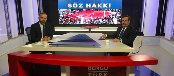 Türkiye Kamu-Sen ve Türk Sağlık-Sen Genel Başkanı Önder Kahveci, Bengü Türk TV'de her salı canlı olarak yayınlanan, Gökhan Altunkaş'ın sunduğu Söz Hakkı programına konuk oldu.