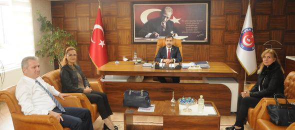 Türkiye Fizyoterapistler Derneğinden Sendikamıza Ziyaret